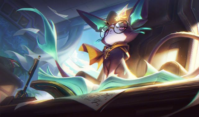 Surrender At 20 Pbe Preview Battle Academia Skins League Of Legends Artwork Art