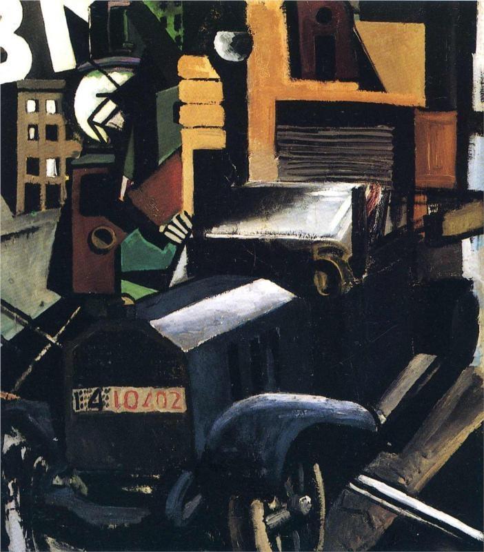 The Truck-Mario Sironi