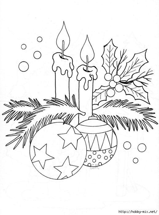 Natal e Ano Novo fotos. Modelos para a criatividade, para colorir .. Discussão LiveInternet - Serviço russo diários on-line