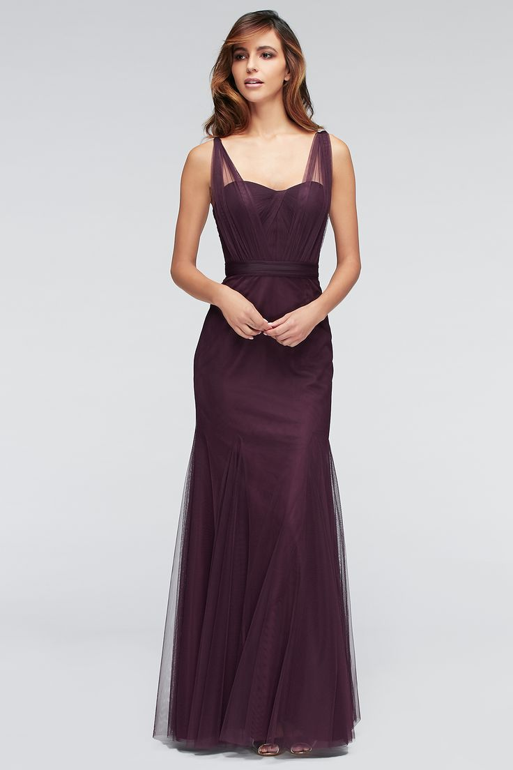 explore eggplant bridesmaid dresses