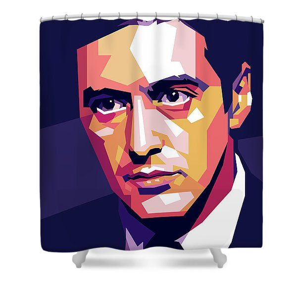 Al Pacino Pop Art Shower Curtain For Sale By Stars On Art In 2020