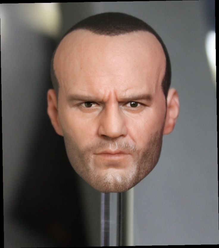 """43.65$  Buy now - http://alivlz.worldwells.pw/go.php?t=32765170092 - """"1:6 male Figure accessories The Mechanic Jason Statham head shape carved for 12"""""""" Action figure doll,not include body and clothes"""""""