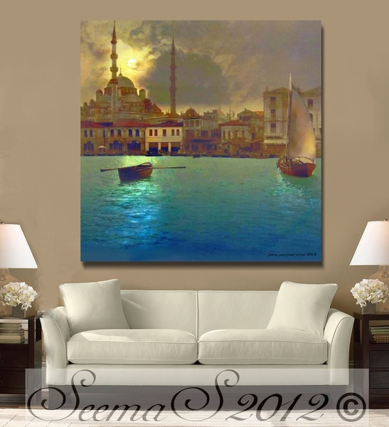 Islamic art,Middle Eastern Home Decor,
