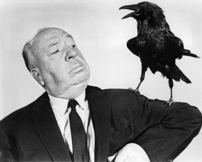 "ALFRED HITCHCOCK ""Fear isn't so difficult to understand. After all, weren't we all frightened as children? Nothing has changed since Little Red Riding Hood faced the big bad wolf. What frightens us today is exactly the same sort of thing that frightened us yesterday. It's just a different wolf. This fright complex is rooted in every individual"""