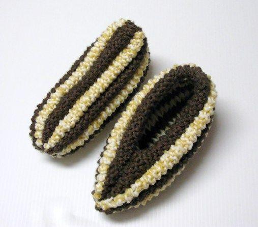 Pantoufles épis de mais