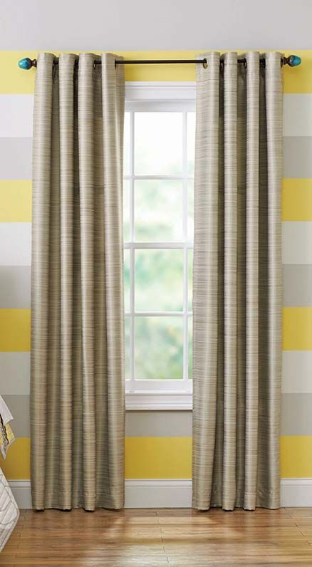 Better Homes And Gardens Curtains Heather Gold Curtain