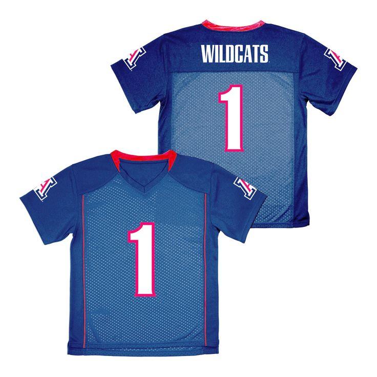 NCAA Boys' Replica Football Jersey Arizona Wildcats - XS, Multicolored