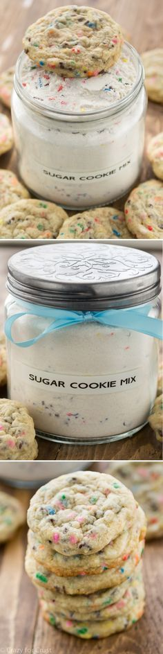 Homemade Sugar Cookie Mix is so much better than the stuff from the store!