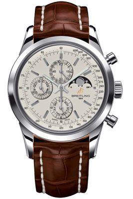 Breitling Transocean Chronograph 1461  Men's Watch A1931012/G750-BRCROCT