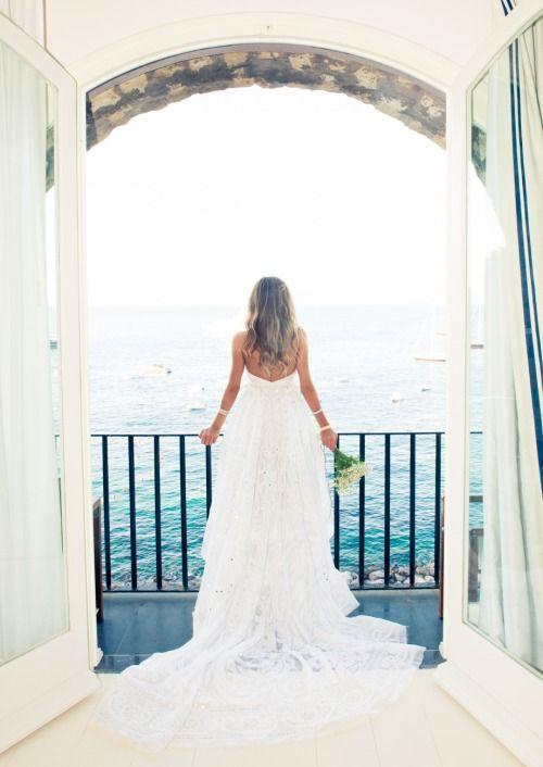 Destination wedding dreams.