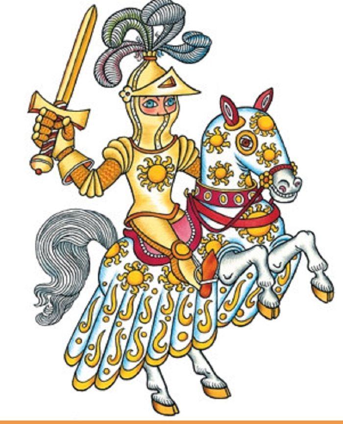 Illustration Helena Zmatlíková . Princ Bajaja