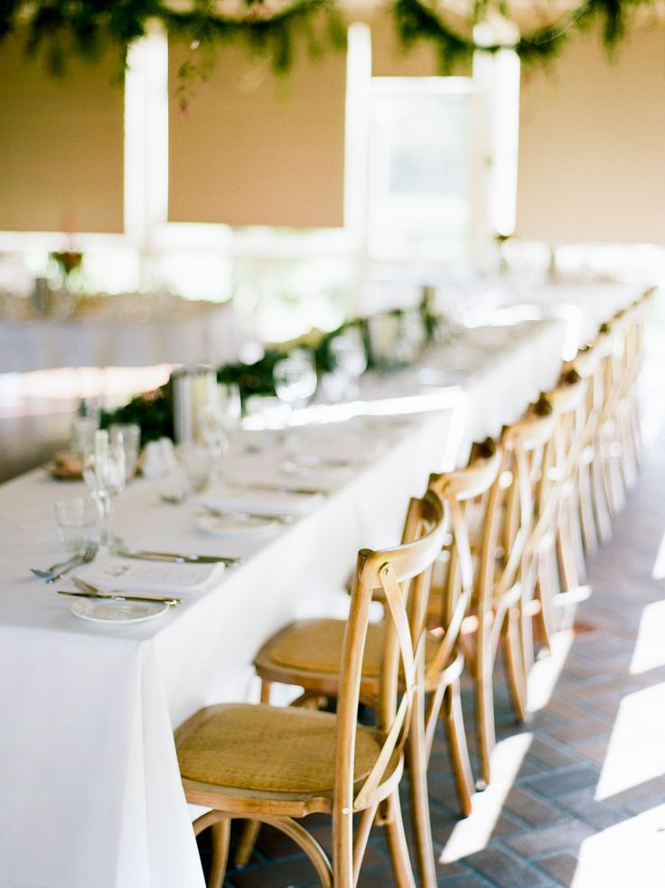 cross back timber chairs, south coast weddings, south coast party hire