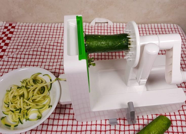 Use a Spiralizer to Make the Zoodles Image