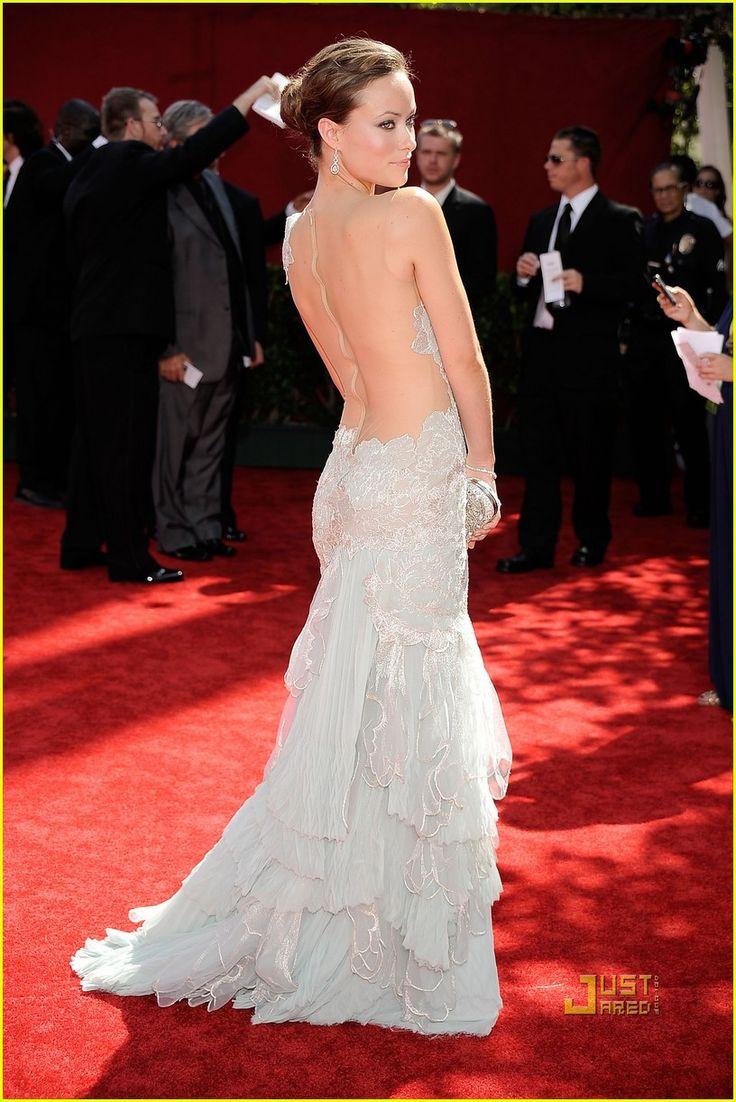olivia-wilde-emmy-awards: Wedding Dressses, Fashion, Emmy Awards, Wedding Dresses, Red Carpet, Marchesa, Olivia Wilde, 2009 Emmy
