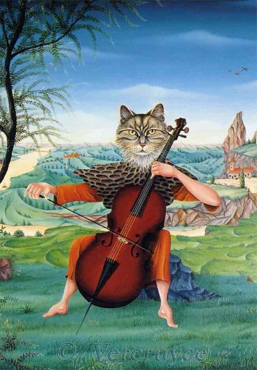 miaulement pour violoncelle