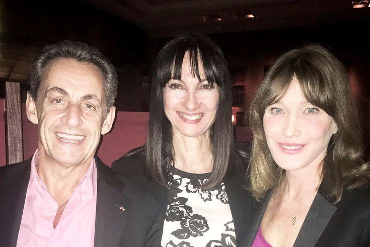 Greek Tourism Minister Meets Nicolas Sarkozy, Carla Bruni in Athens