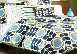 Orla Kiely Bedding Finally Hitting Bed Bath & Beyond Stores  LOVE HER!!