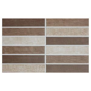 For the laundry  Roca Magnet Mosaic Wall Tile Marron 25 x 40cm