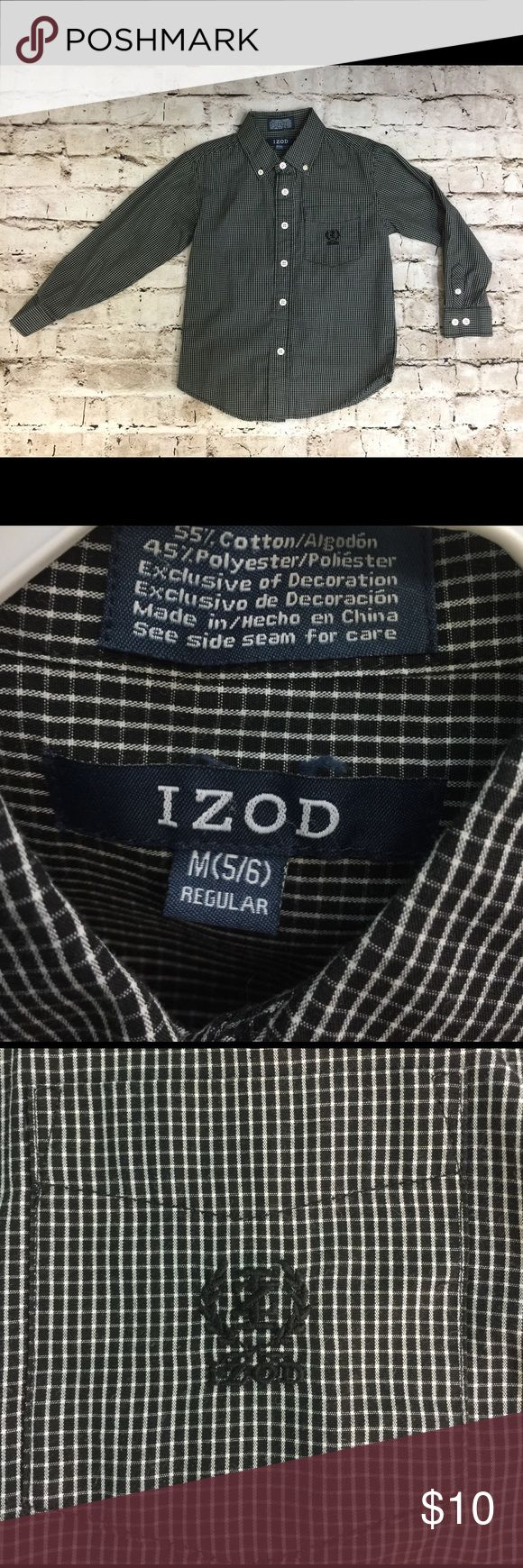 Izod Boys dress shirt This Izod button up shirt is in excellent condition. Would be perfect for church, dress up or just for looking handsome! Izod Shirts & Tops Button Down Shirts