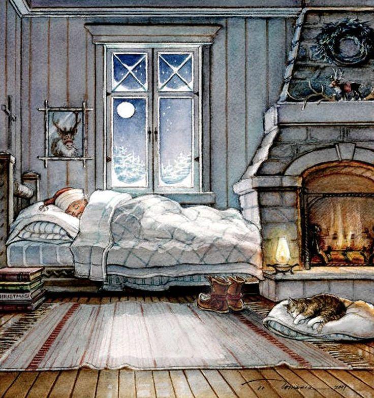 позволяет картинки уютные новогодние старинные хотелось чтоб