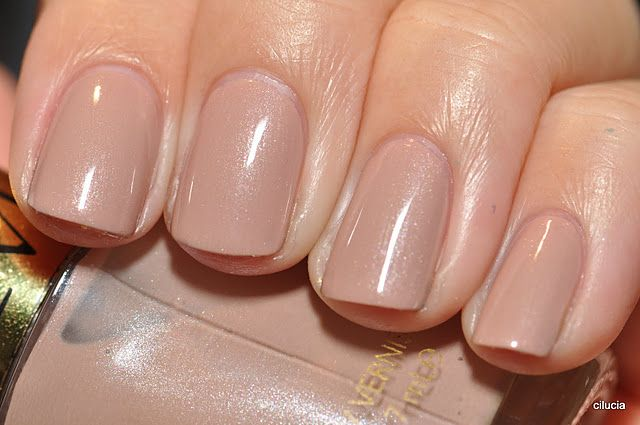 Revlon 'Gray Suede' -- I bought this shade and love it! Perfect neutral, easy to touch up between full manicures.