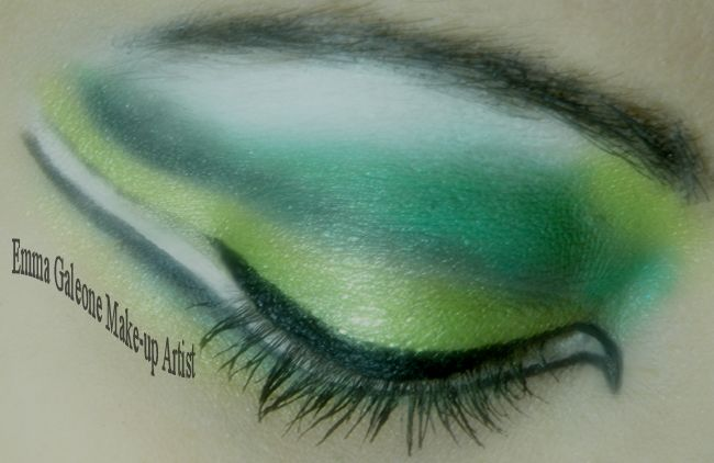 Fashion eye make-up   Trucco occhi fashion