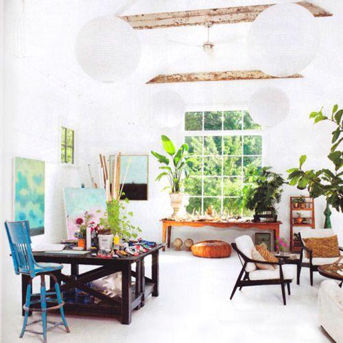 artist studio: Artists Studios, Studios Design, Studios Spaces, Art Studios, Creative Spaces, Backyard Art, Paintings Studios, Eating Houses, Home Studios
