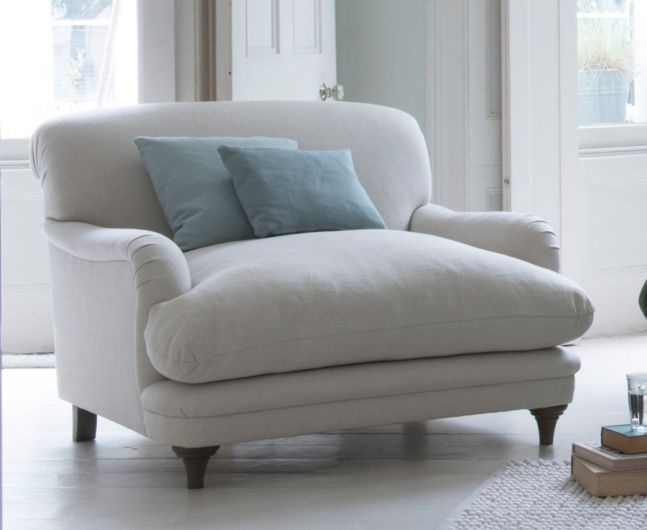 Our lovely contemporary Pudding love seat was made for dozing. It's ideal for sharing or hogging by yourself! Order free swatches online.