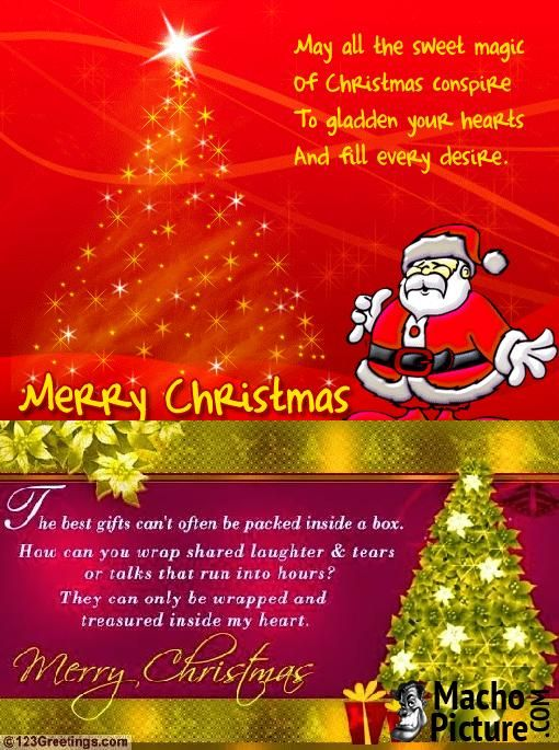 264 best Christmas Greetings images on Pinterest Natal - christmas card word
