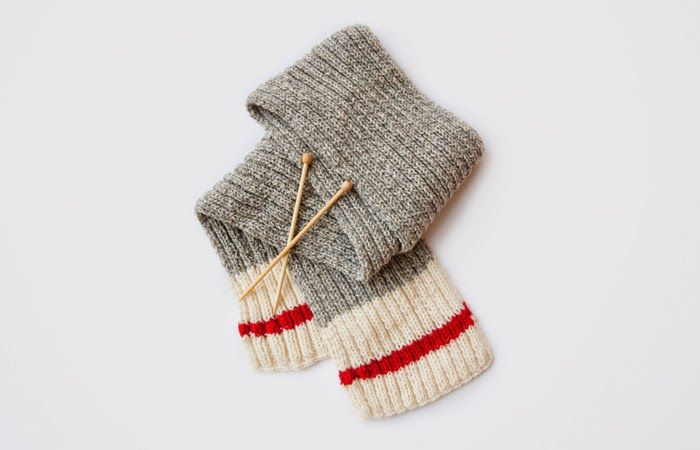 Poppytalk: Knit a Scarf! A Beginners Guide to Knitting (Roots sock scarf)