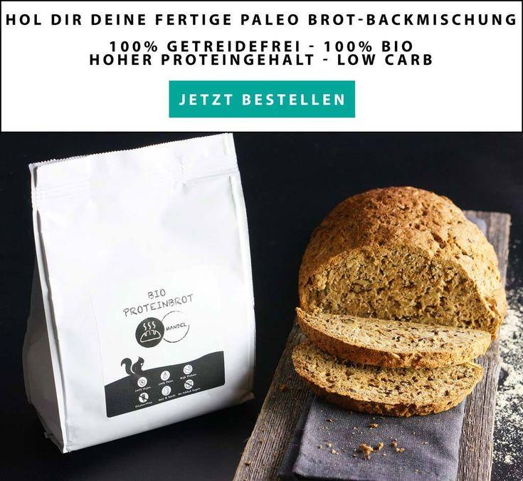 Paleo Brot Backmischung Mandel