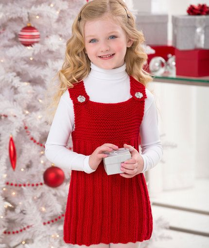 My Red Jumper Knitting Pattern | Red Heart