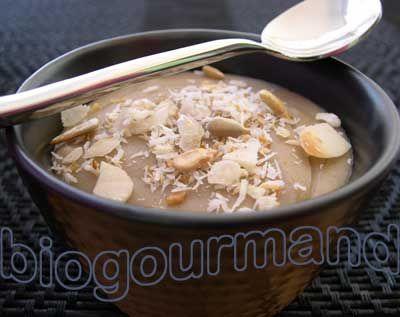 La crème kokkoh du petit déjeuner - Blog cuisine bio - Recettes bio Cuisine bio sans gluten sans lait