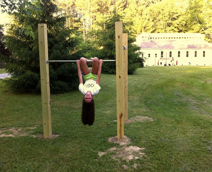 how to make your own gymnastics bar at home