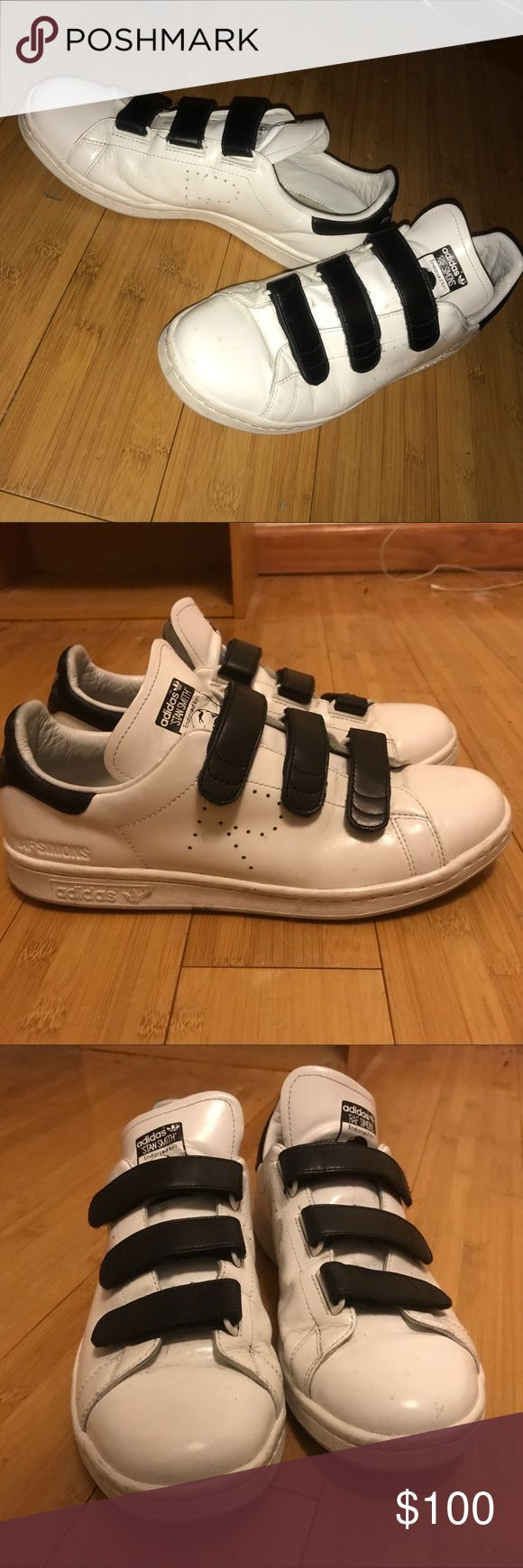 RAF Simons x Adidas Sneakers SOLD AS IS. They have scuffs / signs of wear. The right person can bring these back to life. No inner soles. Raf Simons Shoes Sneakers