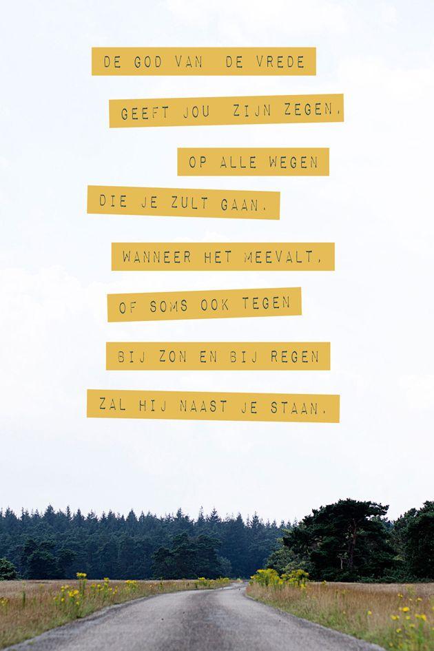 Zegen op al je wegen! #morgensterkaarten