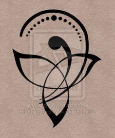símbolos tatuajes - Tatuaje Hermoso