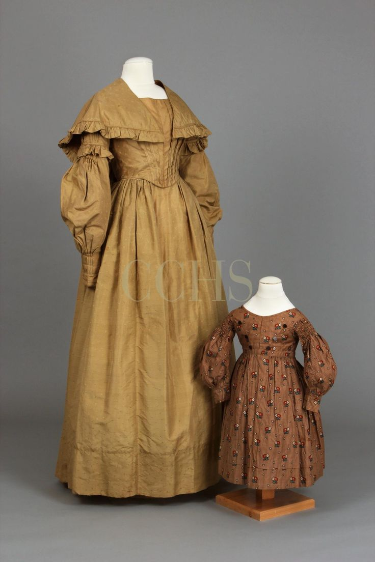 Dress, 1837-1840 and Child's Dress, 1830s | Chester County Historical Society