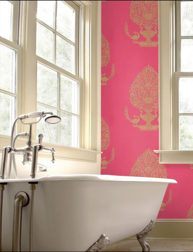 One day I will have a pink bathroom