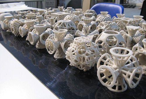倉部蟹子の実験室: 【海外】3Dプリンターがすごいと話題