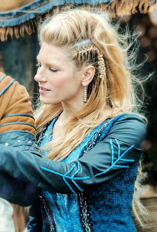 vikings lagertha hair tutorial - Google Search
