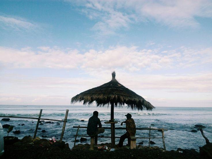 Menganti beach