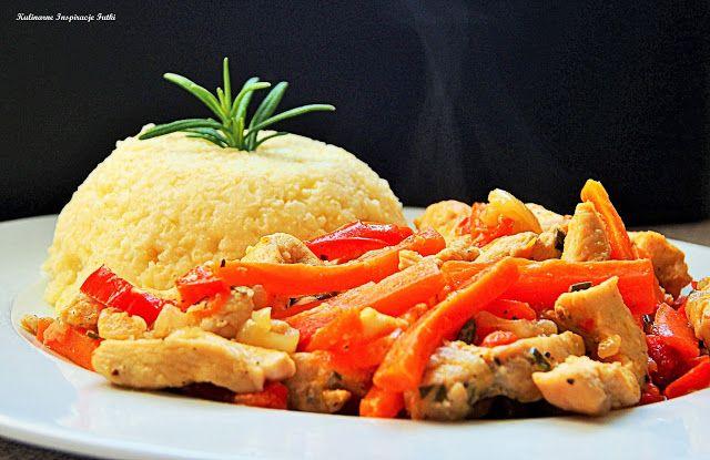 Kulinarne Inspiracje Futki: Pikantna potrawka warzywna z kurczakiem
