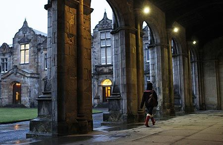University of St. Andrews - Scotland's first university - founded 1413