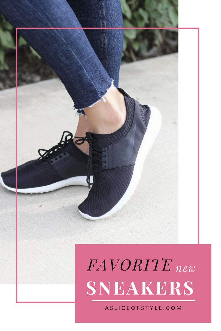 Are you looking for the most comfortable pair of sneakers? I can wear these comfortably even with a broken toe! They are also make your feet look smaller! That's right! Comfortable shoes | best sneakers | on sale | black sneakers |