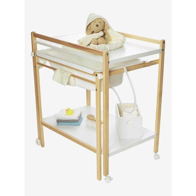idee salle de bain table a langer avec des. Black Bedroom Furniture Sets. Home Design Ideas