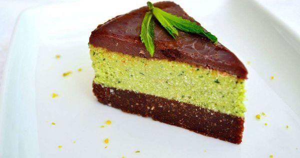 Tort de menta si ciocolata | ViataVerdeViu.ro