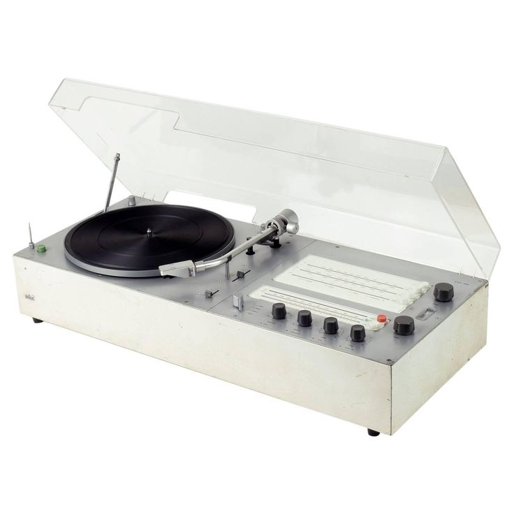 Dieter Rams Audio 300 Hi-fi system, Braun 1969. Incl, i-Pod/phone Lead Connector | 1stdibs.com