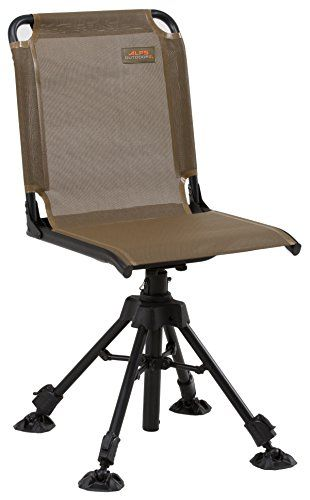 ALPS OutdoorZ Stealth Hunter Blind Chair - Based on our wildly popular Shadow Hunter X from our Browning Camping line, the Stealth Hunter Chair takes everything that was great about the Shadow Hunter X and improves upon it. Featuring a full four legs as opposed to just three, the Stealth Hunter is the most sturdy and comfortable 360 degre...