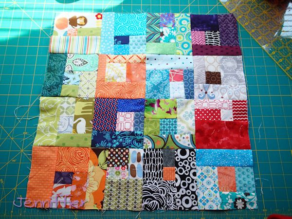 Sunday Morning Quilt Bee My block by Jenniffier, via Flickr